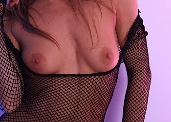 Geri fish net body stocking