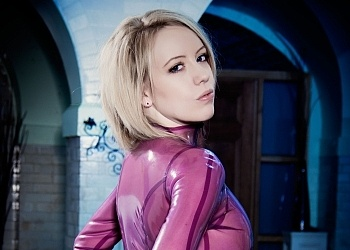 Lily Pink see through latex