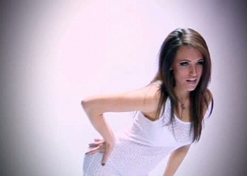 Anastasia'a White Underwear