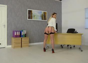 Office Strip Behind the Scenes (ft. Amber Jade)